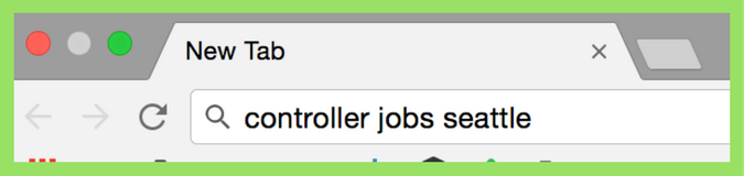 Google for Jobs, Google Search Bar